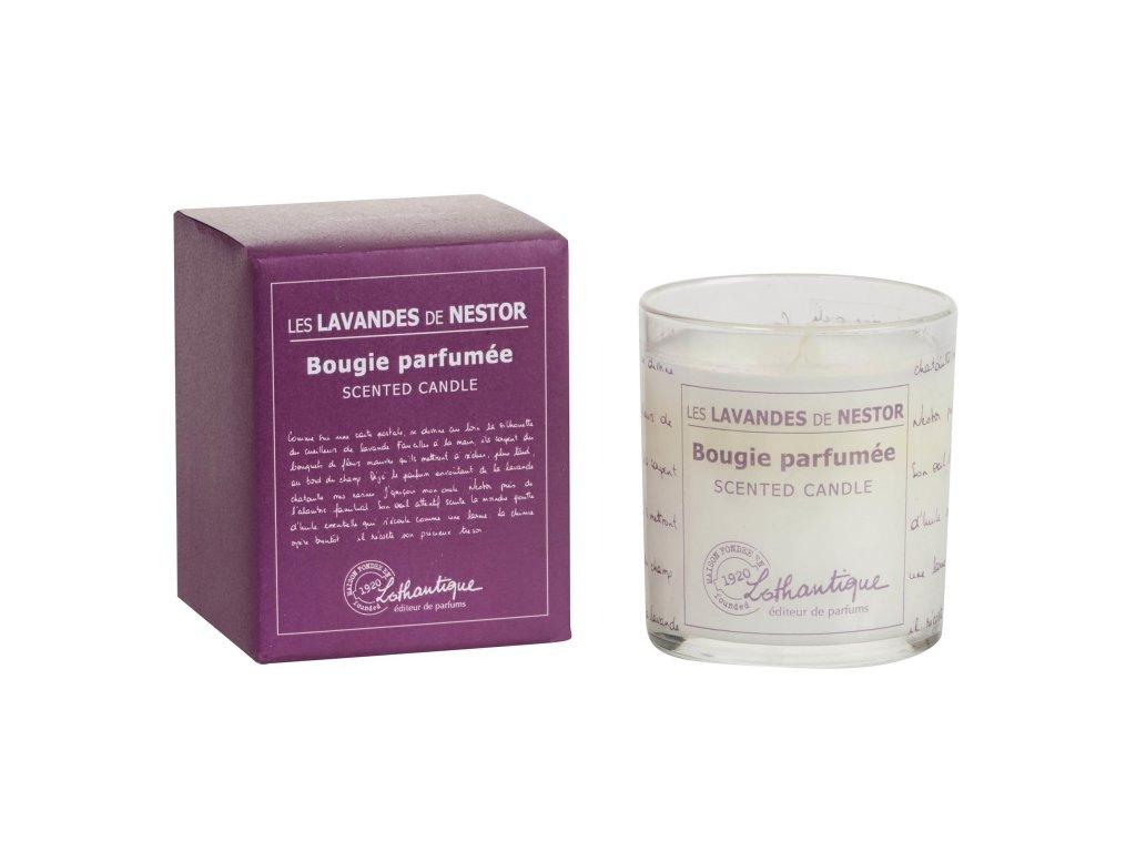 Vonná svíčka Lothantique 140 g Levandule
