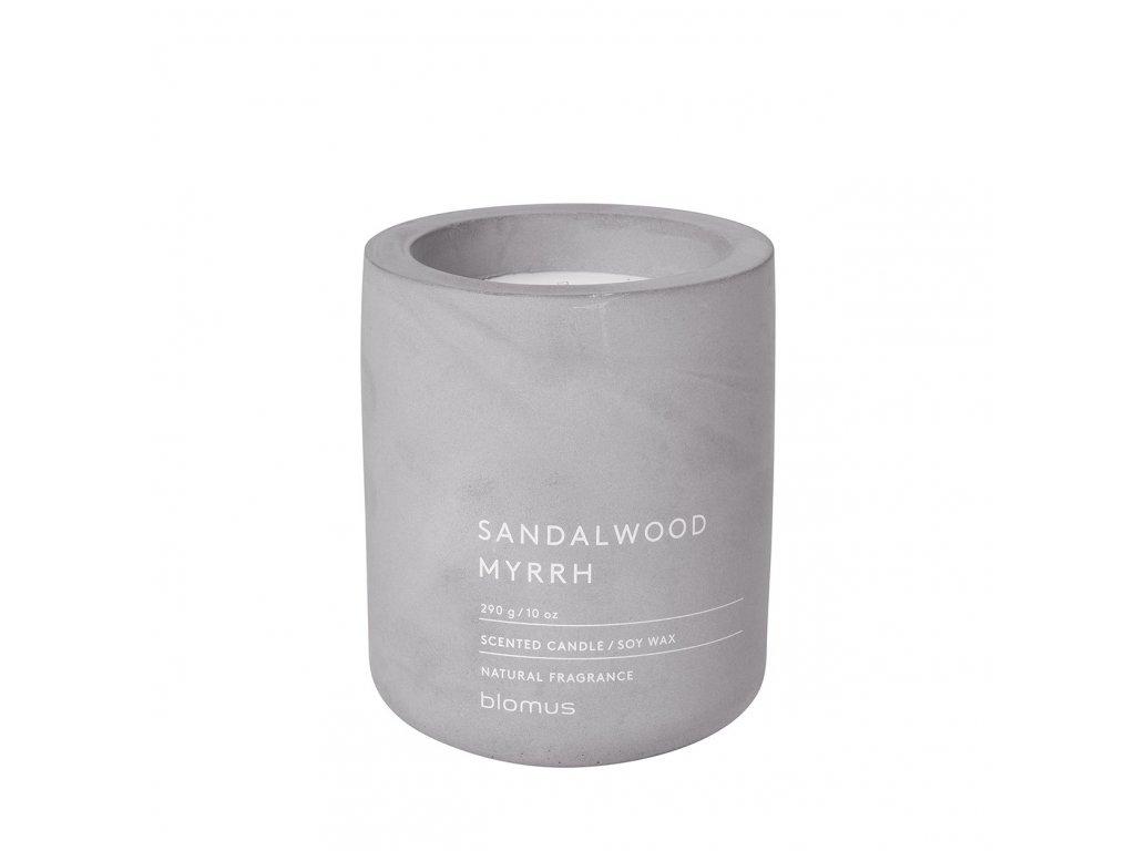 Vonná svíčka Blomus Fraga L Sandalwood | světle šedá