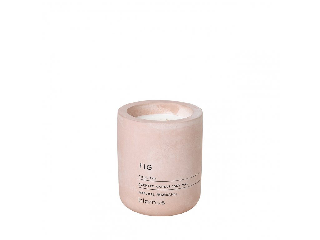 Vonná svíčka Blomus Fraga S Fig | růžová pudrová