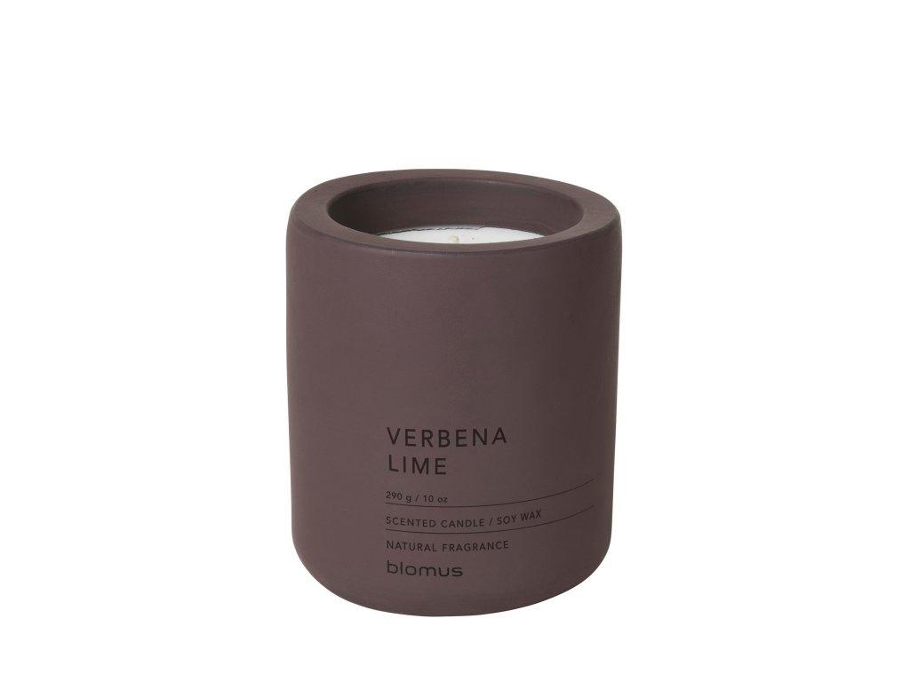 Vonná svíčka Blomus Fraga L Verbena/lime | vínová