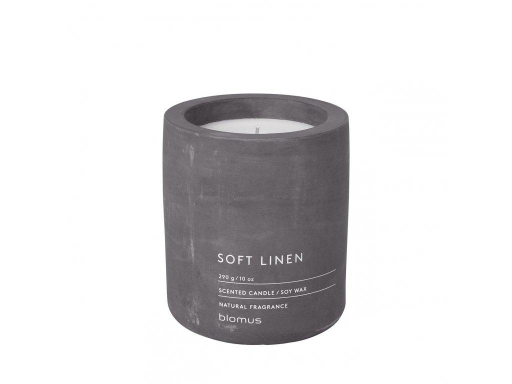 Vonná svíčka Blomus Fraga L Soft linen | tmavě šedá