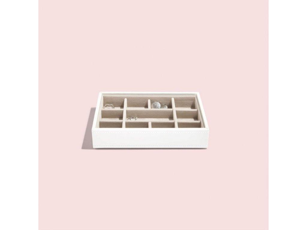 Box na šperky Stackers White Mini 11 | bílá