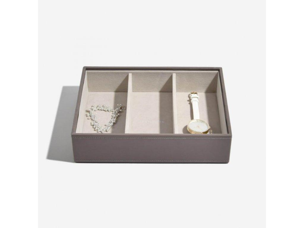Box na šperky Stackers Mink Deep Watch/Accessories | kávová