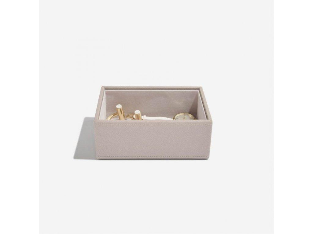 Box na sluneční brýle Stackers Taupe Classic Glasses/Accessory   šedobežová