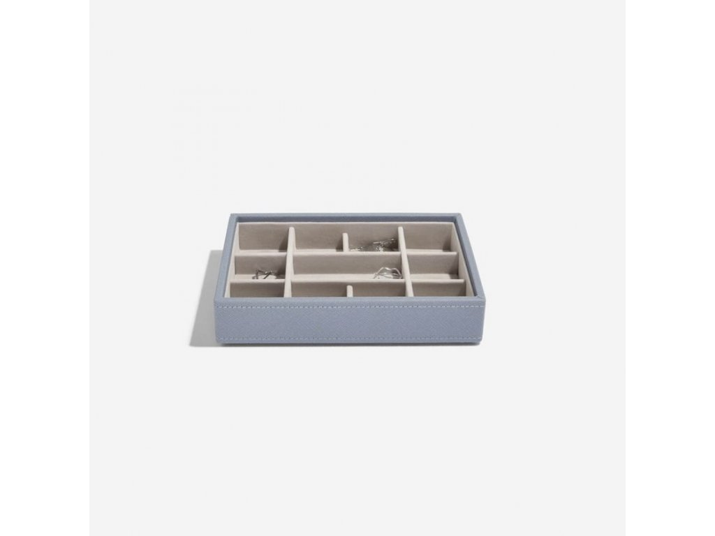 Box na šperky Stackers Dusky Blue Mini 11 | modrošedá