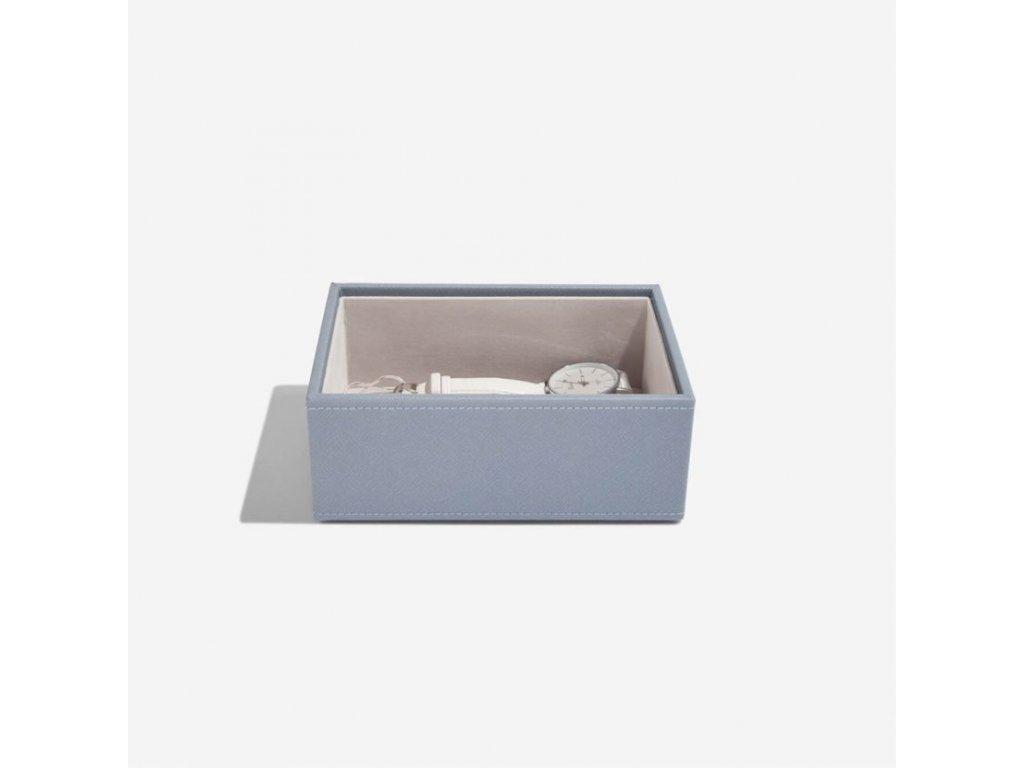 Box na šperky Stackers Dusky Blue Mini Open Layer | modrošedá