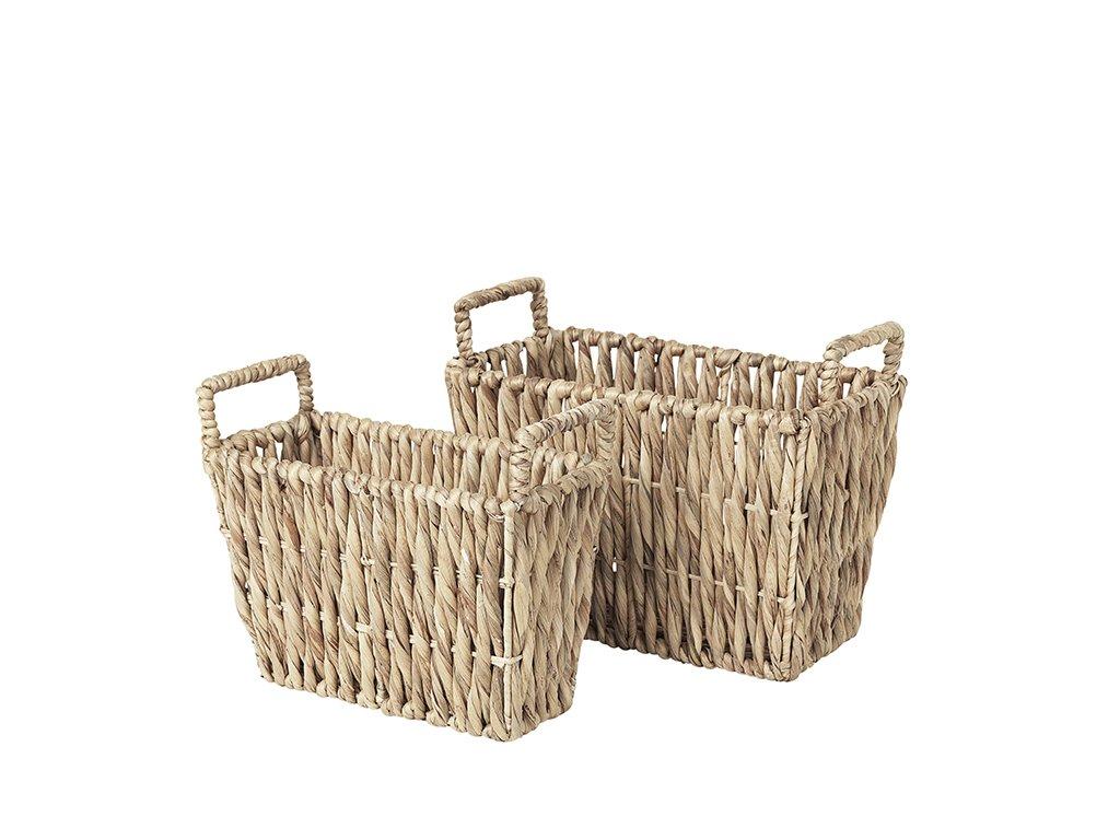 Sada 2 košíků Broste Kamilla Sea Grass   přírodní