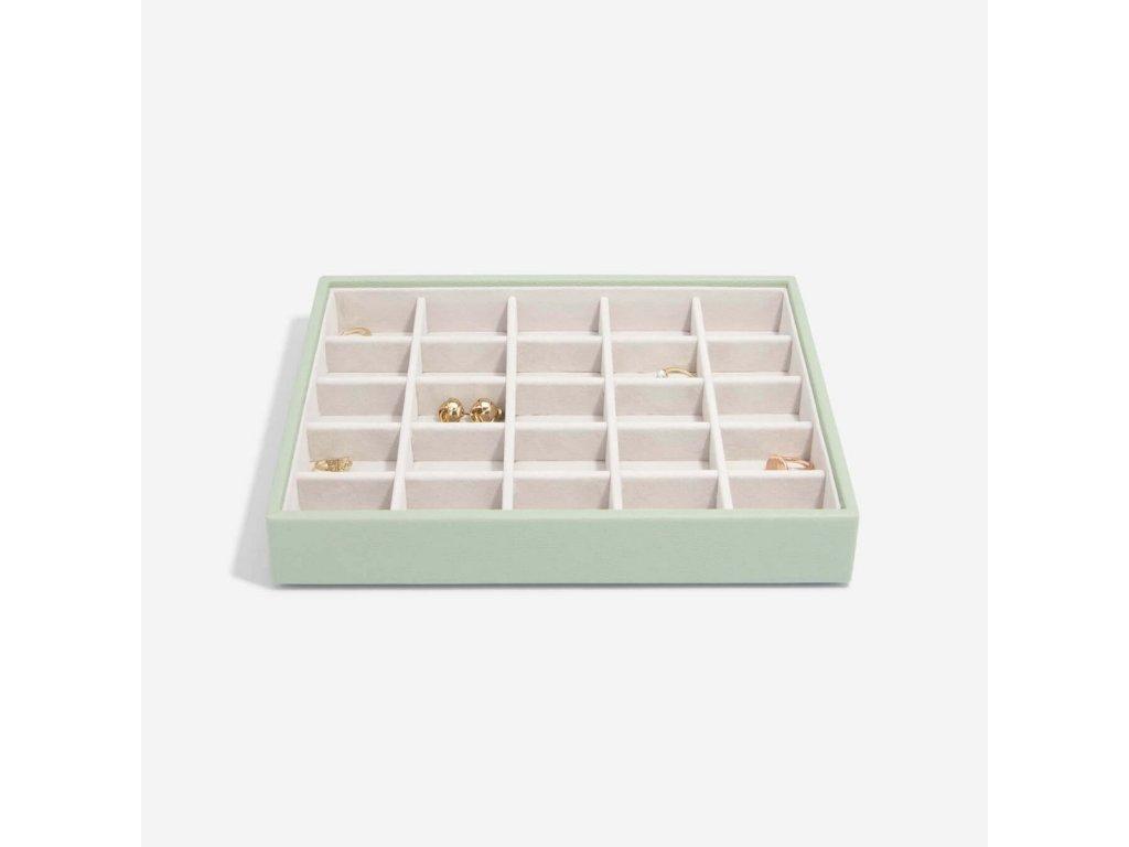 Box na šperky Stackers Sage Green Classic 25   zelená