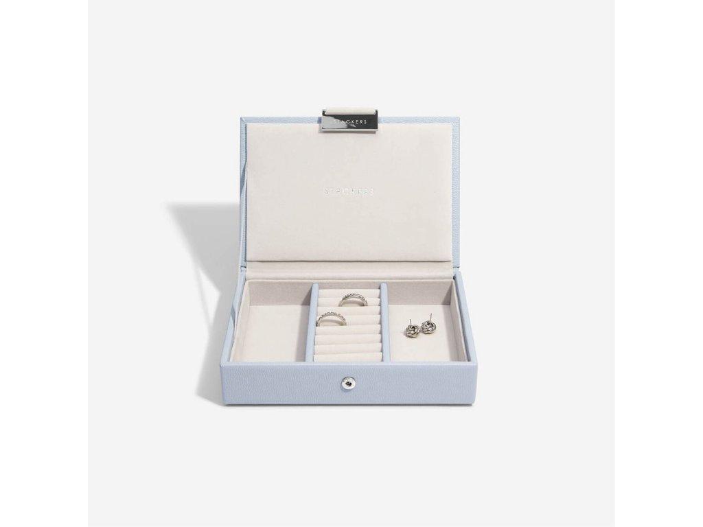 Šperkovnice Stackers Lavender Mini Lid | levandulová