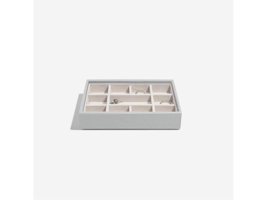 Box na šperky Stackers Pebble Grey Mini 11   šedá