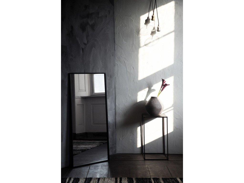 Zrcadlo Broste Talja 50x110 cm | černé