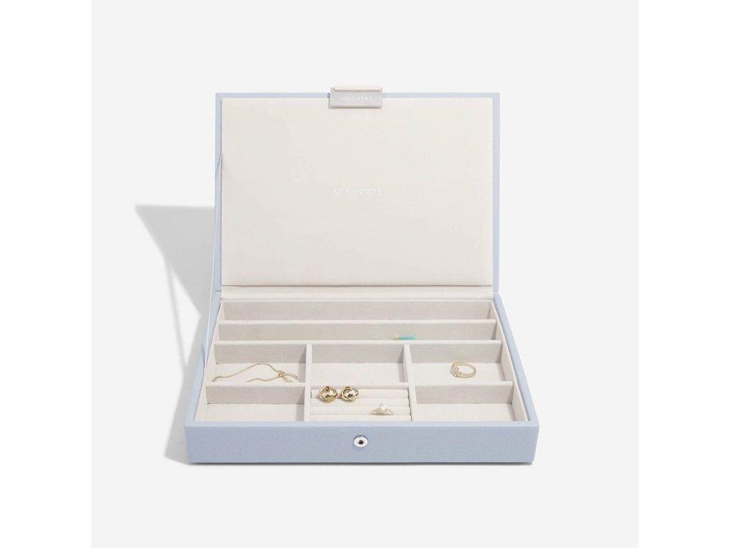 Šperkovnice Stackers Lavender Classic Lid | levandulová