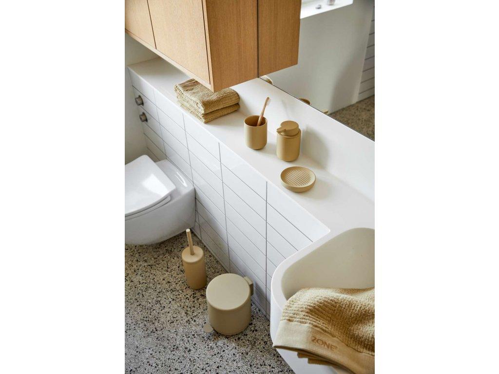 Koupelnový pedálový koš Zone Denmark Ume Warm Sand 5l | béžová