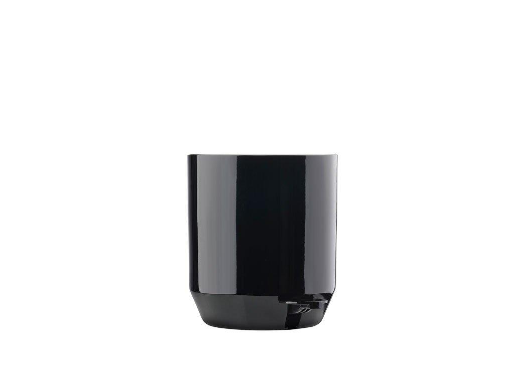 Koupelnový pedálový koš Zone Denmark Suii 24 x 24 cm Black 4l | černá