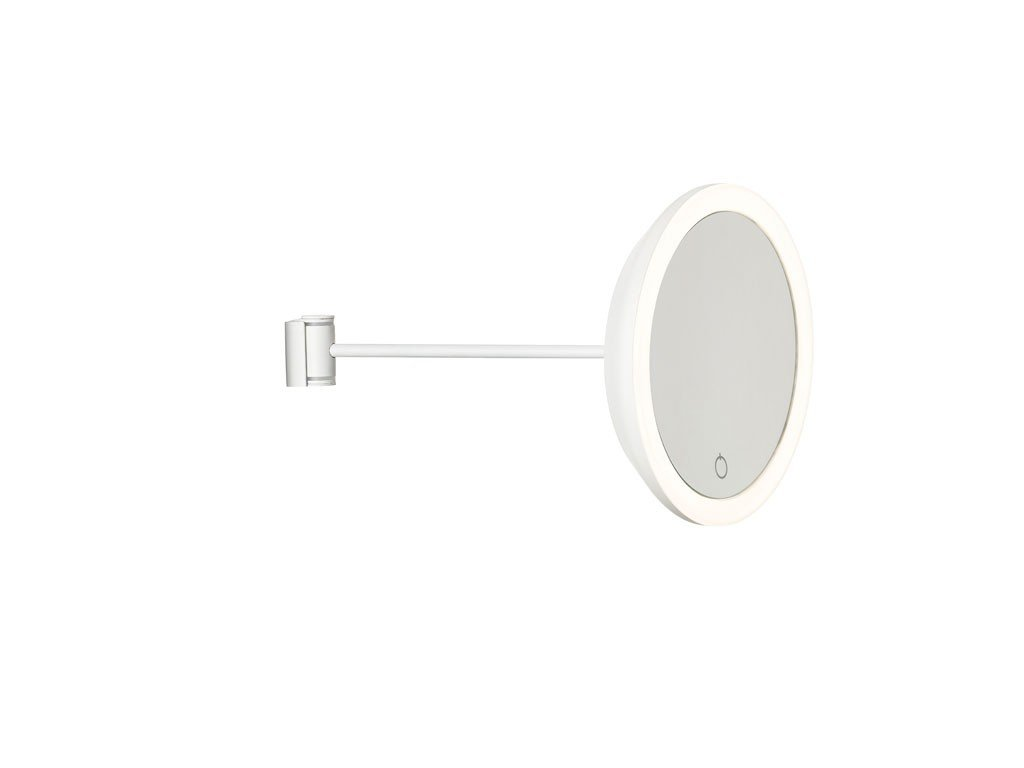 Nástěnné kosmetické zrcadlo s osvětlením Zone Denmark White | bílá