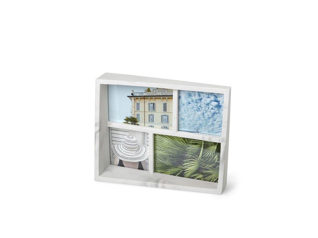 Fotorámeček Umbra Edge Multi Marble | mramor