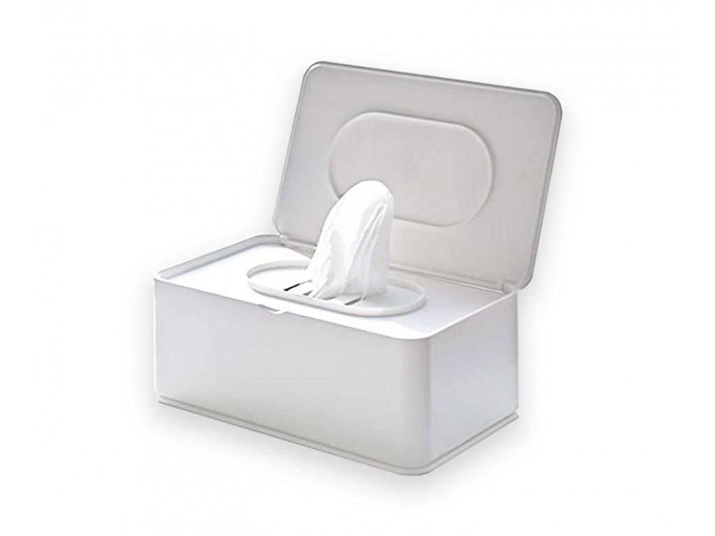 Box na vlhčené ubrousky YAMAZAKI Smart 3255 Wet Tissue Case   bílá