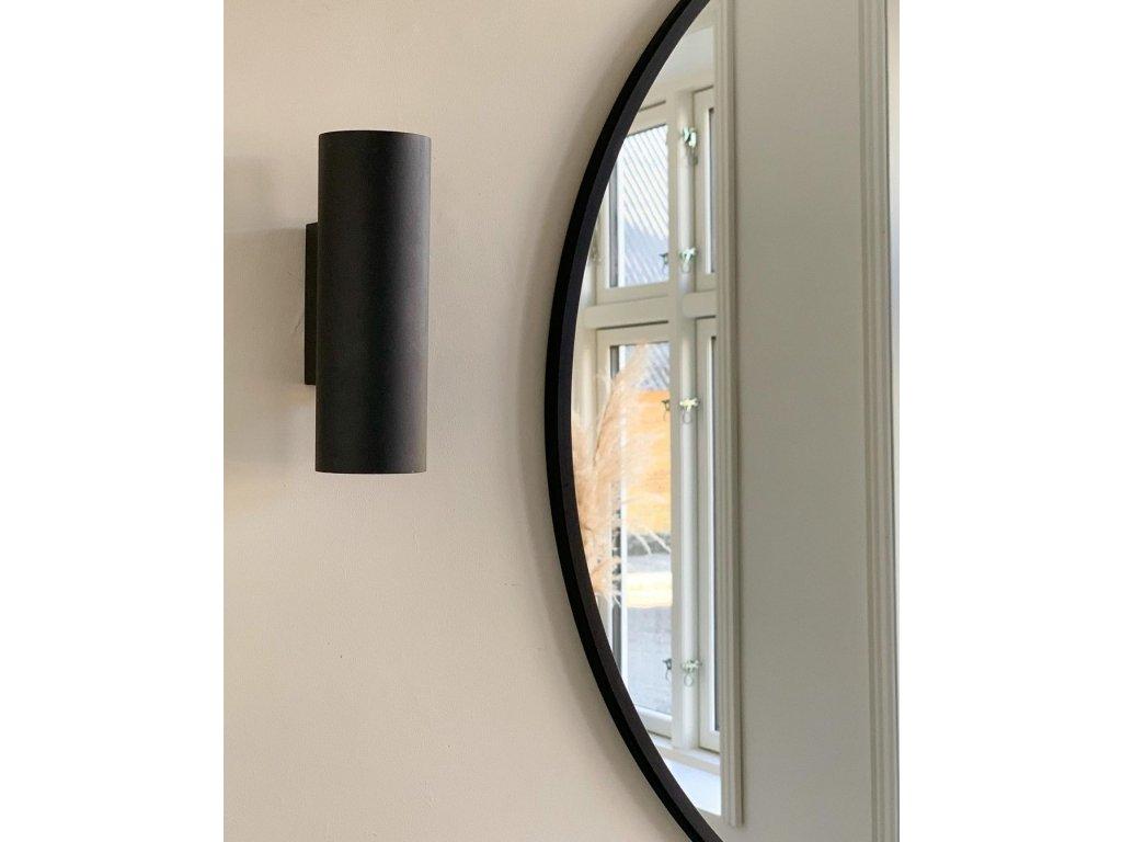 Zrcadlo na zeď Villa Collection Black 80cm   Černá