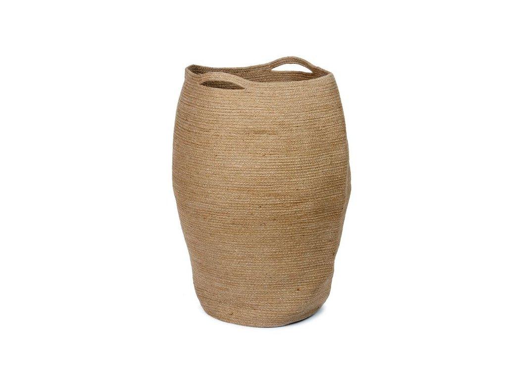 Koš na prádlo Andrea House Jute Laundry Basket BA70195
