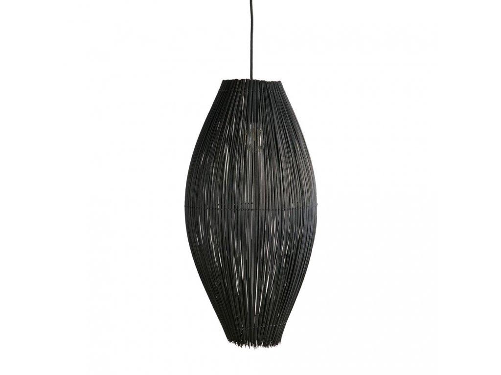 Lustr Muubs Fishtrap 66 cm   černá