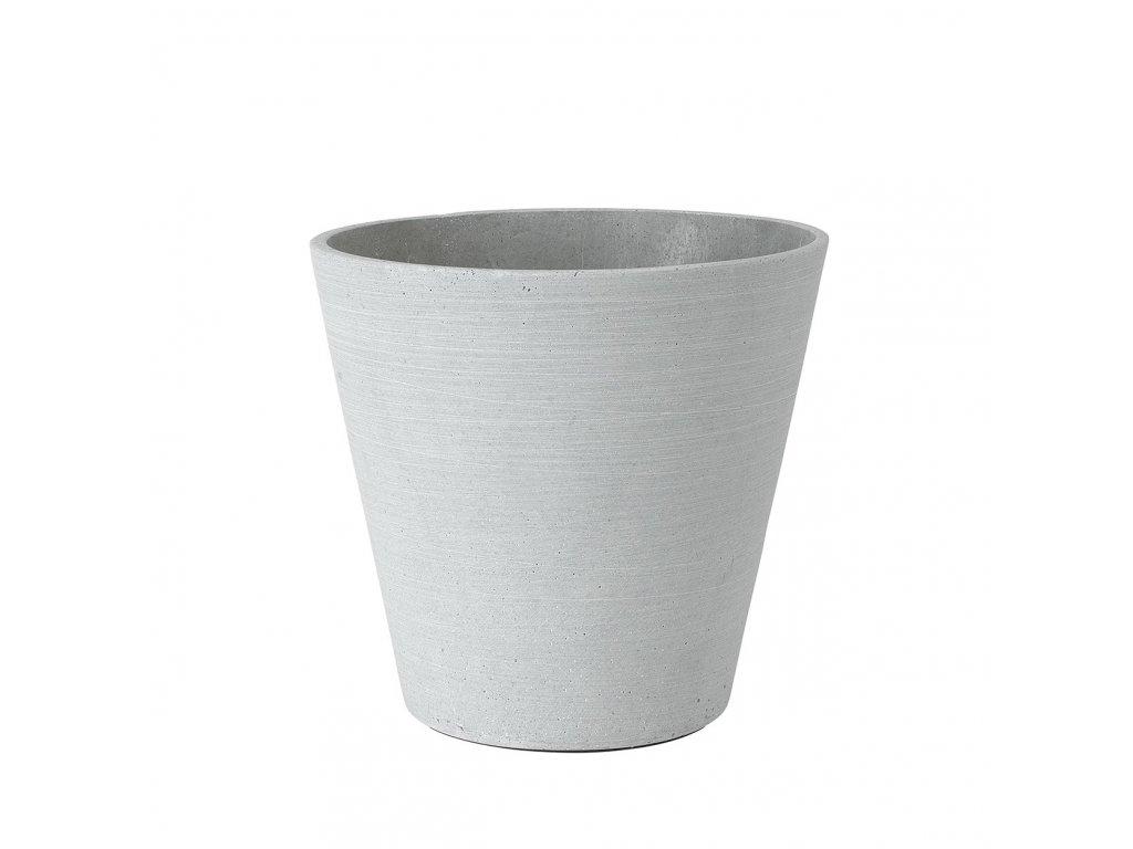 Květináč Blomus COLUNA 24 cm | světle šedý