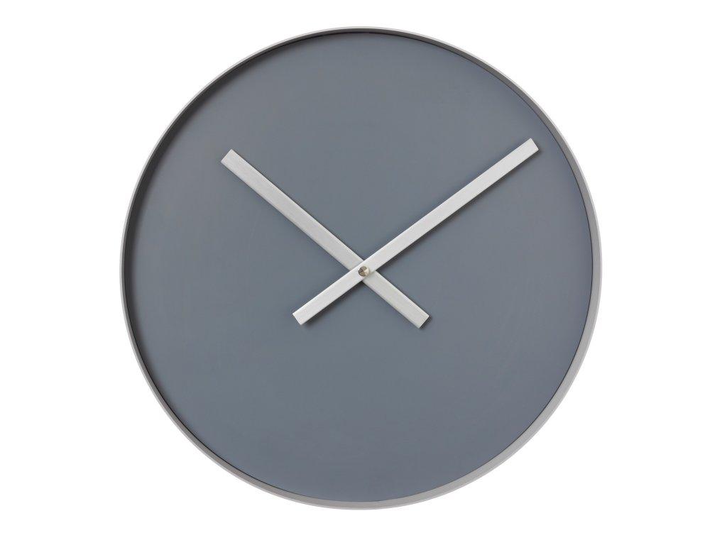 Nástěnné hodiny Blomus RIM   velké šedé