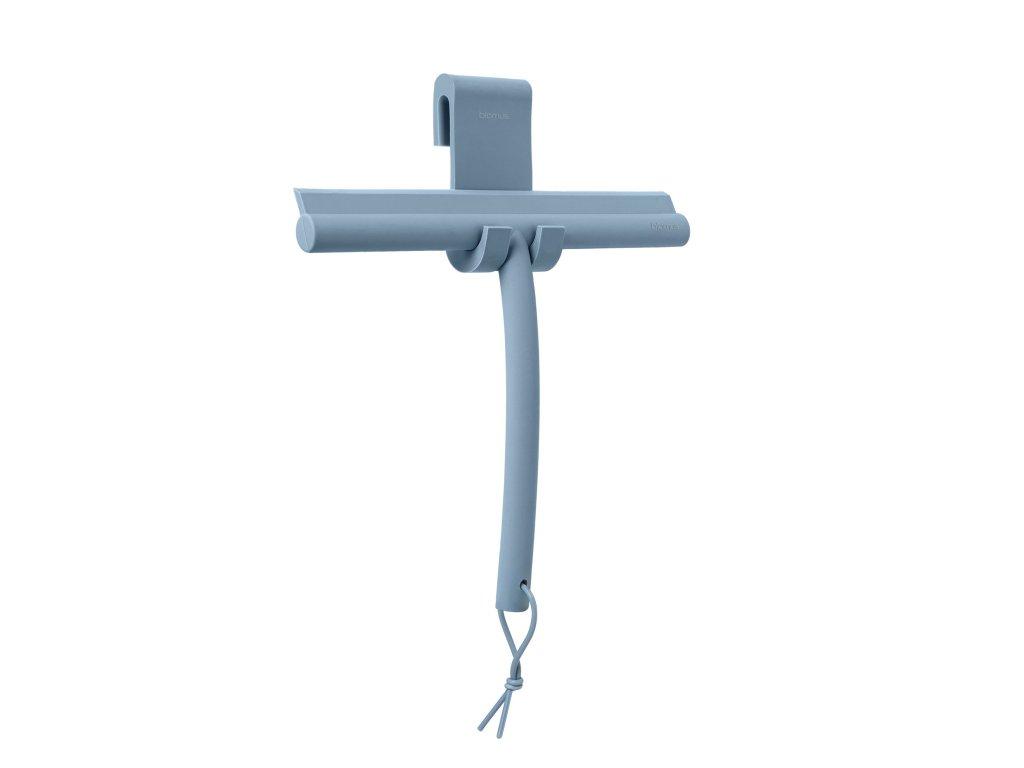 Stěrka na sklo Blomus VIPO (vč.háčku)   modrá