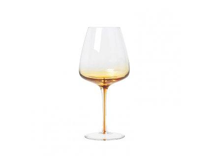 0032923 sklenice na cervene vino amber 0
