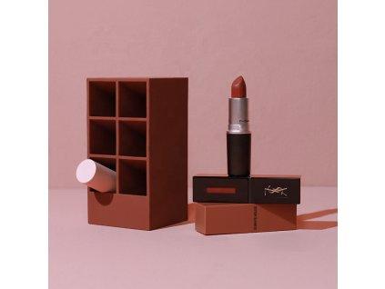 Organizér na rtěnky MMIRO lipstick holder 6 | tmavě červená