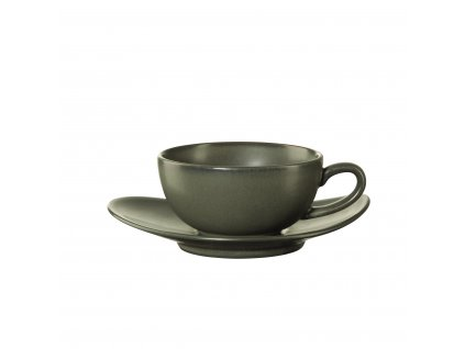 Šálek na čaj s podšálkem Asa Selection CUBA VERDE| zelená