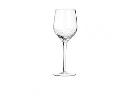 Sklenice na bílé víno Broste BUBBLE 350ml   průhledná