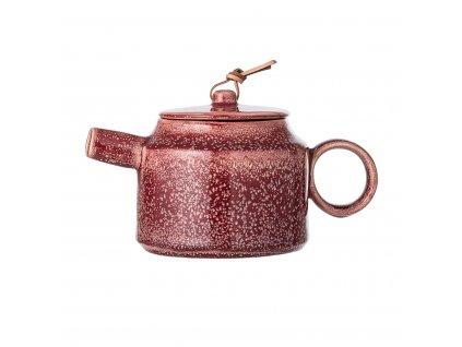 Konvice na čaj Bloomingville Joelle - 570 ml| hnědá