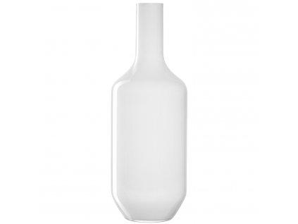 Skleněná váza Leonardo MILANO bílá 64 cm | bílá