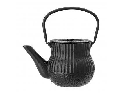 Konvice z odlévaného kovu Bloomingville 850 ml | černá
