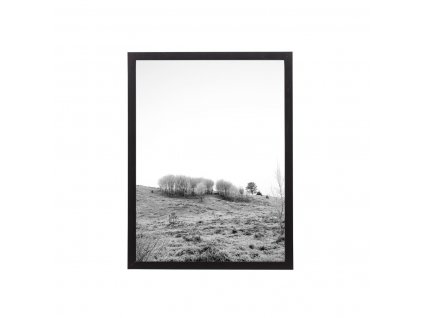 Obraz v rámu Bloomingville Black 42x32 cm černý| černá
