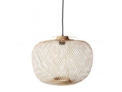 Stropní osvětlení z bambusových vláken Bloomingville 42 cm | přírodní