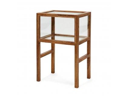 Boční stůl House Doctor Montre Antique brown | hnědá