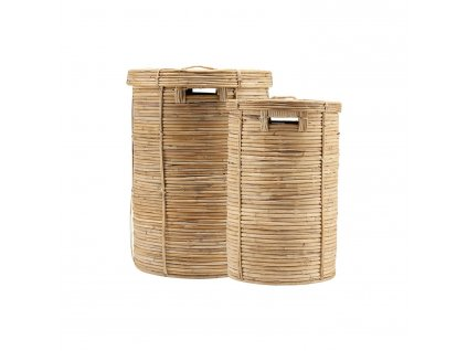 house doctor chaka laundry baskets set of 2 pieces
