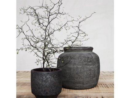 Květináč House Doctor Rustik Concrete | šedá