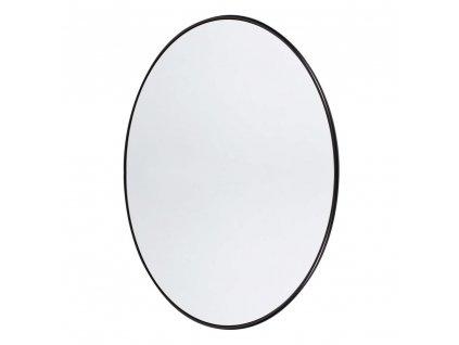 Nástěnné zrcadlo kulaté Muubs Copenhagen L  | černá