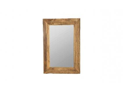 Zrcadlo se širokým rámem House Doctor Pure Nature, 60 x 90 cm | přírodní