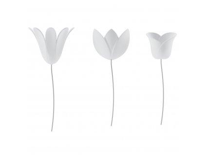 Dekorace na zeď Umbra Bloomer | bílé
