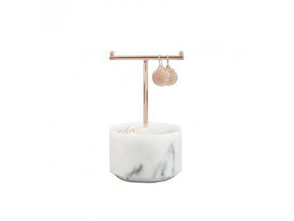 Stojan na šperky Stackers Small Marble T Bar | mramor