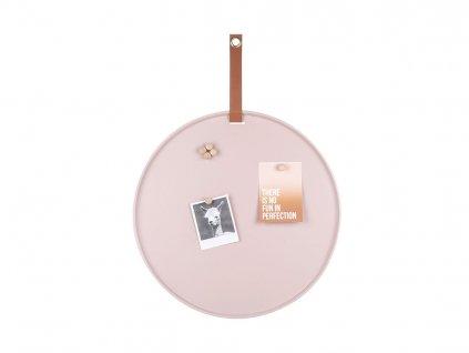 Nástěnka Present Time Perky | růžová
