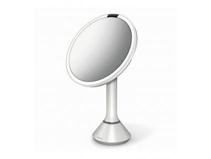 Stolní kosmetické zrcadlo s LED osvětlením a dotykovým ovládáním Simplehuman Sensor Mirror, 20 cm | bílá