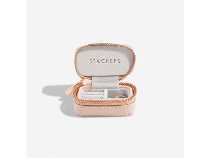 Cestovní šperkovnice Stackers Blush Petite Travel | růžová