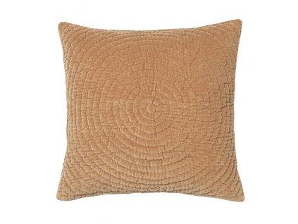 Povlak na polštář Broste Quilt Ring 60x60 cm | žlutý