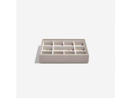 Box na šperky Stackers Taupe Mini 11 | šedobéžová
