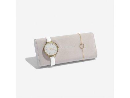 Polštář na hodinky do šperkovnice Stackers Stone Velvet Watch/Bracelet Pad | béžová