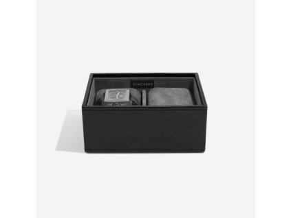 Kazeta na hodinky Stackers Black Watch Layer | černá